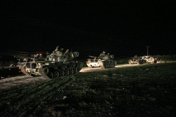 Afrin'de YPG ile DEAŞ TSK'ya karşı birleşti