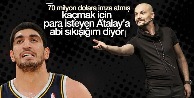 Atalay Demirci ile Enes Kanter arasında ilginç diyalog