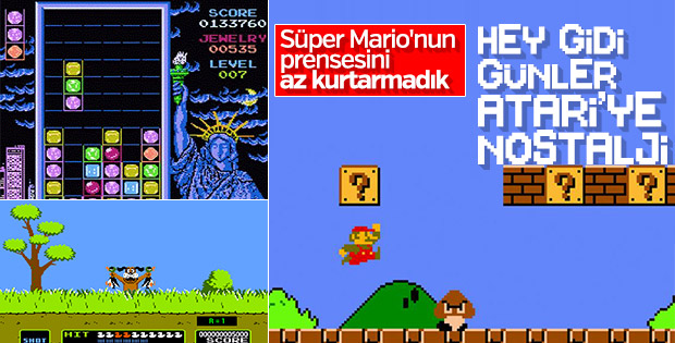 Bir dönemin Mario çılgınlığı: Atari oyunları