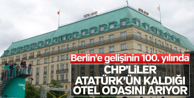 CHP'liler Atatürk'ün Berlin'e gelişinin 100. yılını andı