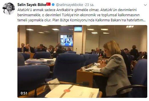 CHP'li Selin Sayek Böke'nin sözleri partisiyle çelişti