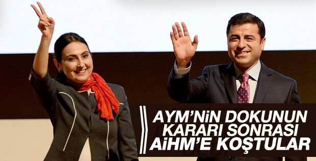 AYM'den CHP ve HDP'ye ret