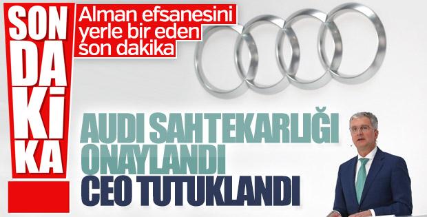 Audi CEO'suna dizel skandalından tutuklama