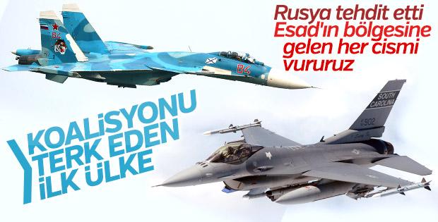 Avustralya Suriye'deki hava saldırılarını askıya aldı