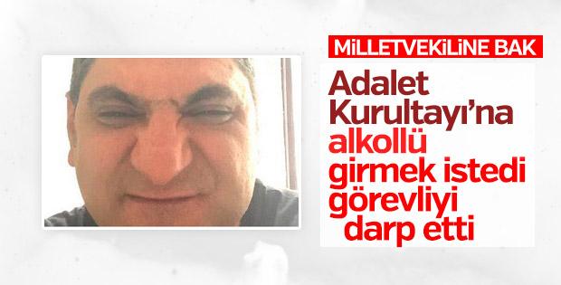 Aykut Erdoğdu CHP kampında olay çıkardı