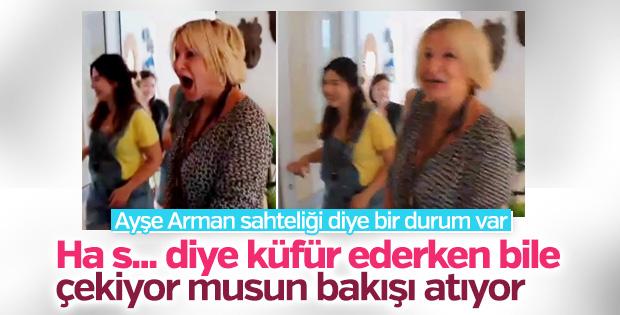 Ayşe Arman'ın abartılı sevinci