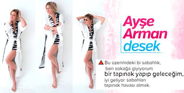 Ayşe Arman: Önce tapınağa gider, sonra yazı yazarım