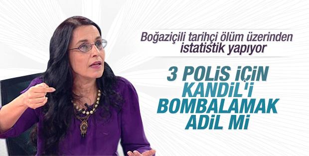 Ayşe Hür: Kandil'i bombalamak adil değil