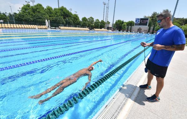 Avrupa Şampiyonu milli yüzücü Harvard'a kabul edildi