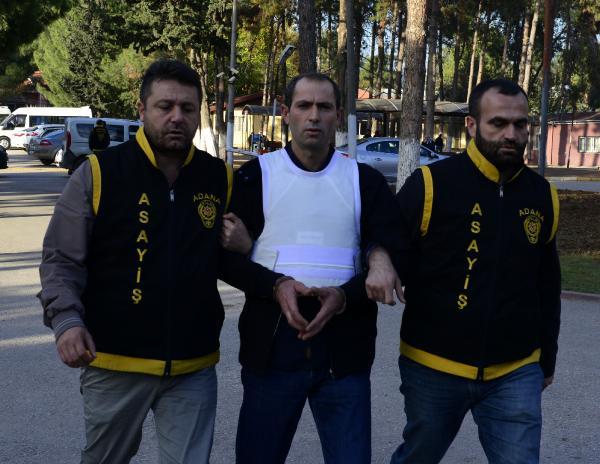 Adana'da 94 yıl hapis cezası olan seri katil yakalandı