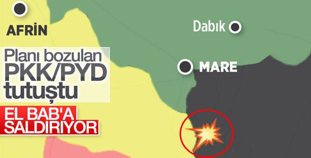 Terör örgütü PKK Bab'a saldırıyor