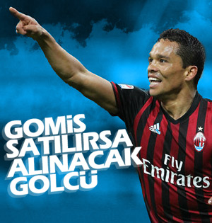 Gomis'in alternatifi Carlos Bacca