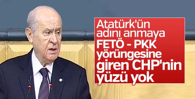 Devlet Bahçeli'nin CHP'ye Atatürk eleştirisi