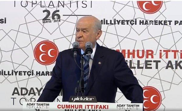 Bahçeli'nin Türk ekonomisine güveni tam