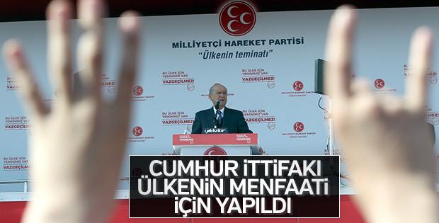 Devlet Bahçeli: MHP'yi bitirmek istediler