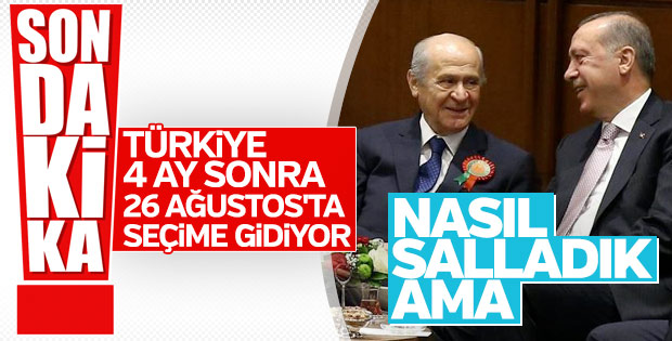 Cumhurbaşkanı Erdoğan MHP Lideri Bahçeli'yle görüşecek