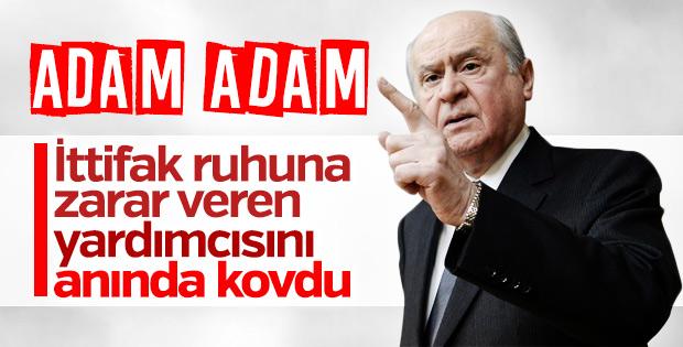 MHP Genel Başkan Yardımcısı Sefer Aycan görevden alındı