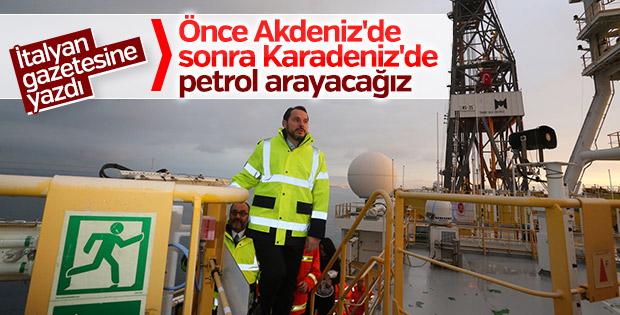 Bakan Berat Albayrak petrol konusunda kararlı