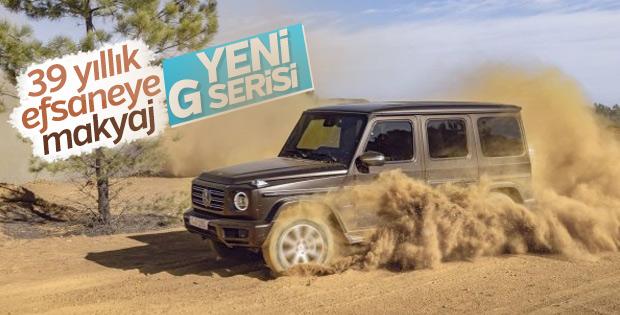 Mercedes'in 39 yıllık geleneği : G-Serisi
