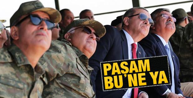 Başbakan Erdoğan Efes Tatbikatı'nı izledi İZLE