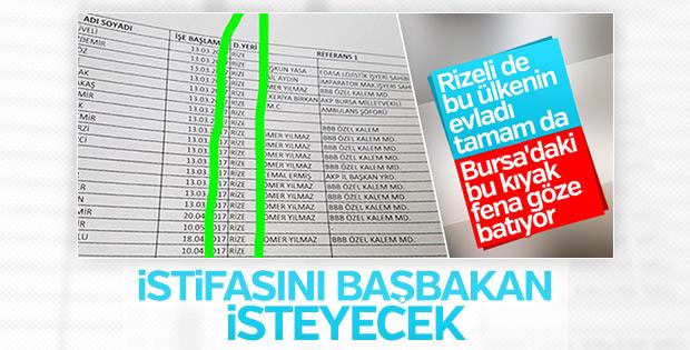 Erdoğan açıkladı: Recep Altepe istifa edecek