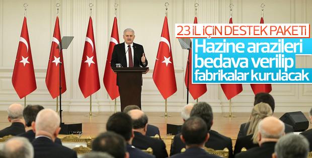 Başbakan Binali Yıldırım'dan yatırımcılara müjde