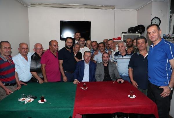 Erdoğan Kasımpaşa'da