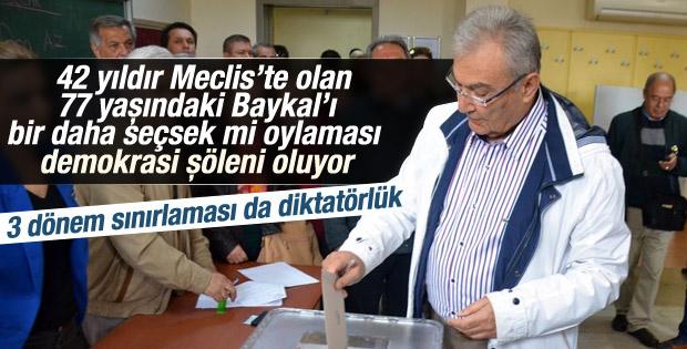 Deniz Baykal'a ön seçimde Antalya'dan hayal kırıklığı