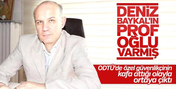 Deniz Baykal'ın prof oğlu Ataç Baykal