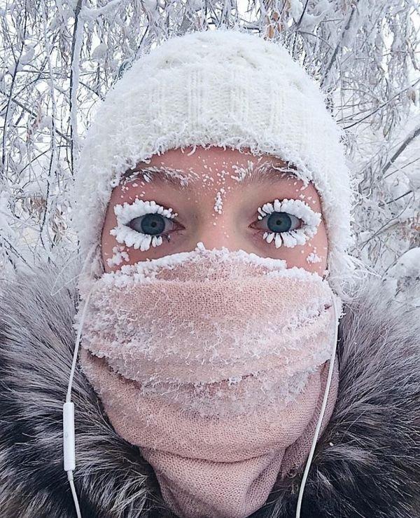 Dünyanın en soğuk bölgesi Oymyakon ...