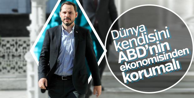 Bakan Albayrak: Türkiye güçlü kaldı dünya da kendisini korumalı