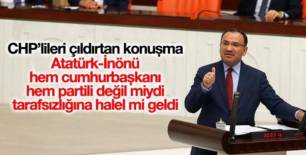 Bekir Bozdağ: Atatürk'ün tarafsızlığına halel mi geldi