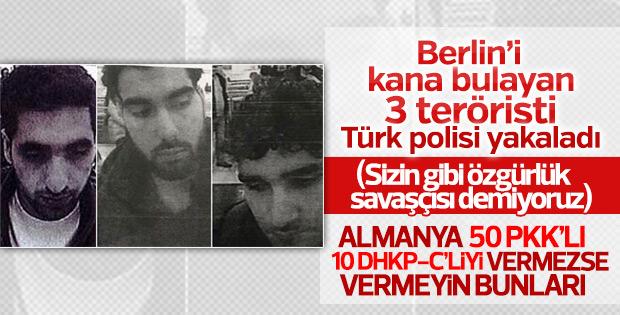 Berlin saldırganı ile bağlantılı 3 kişi İstanbul'da yakalandı