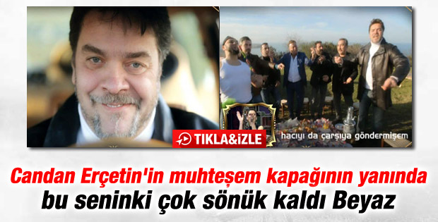 Beyazıt Öztürk'ten Candan Erçetin'e yeni kliple yanıt