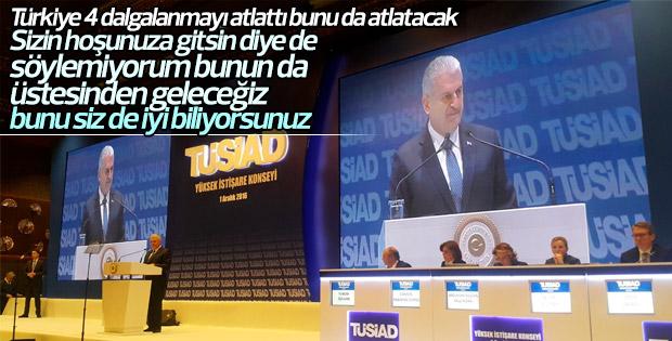 Başbakan Yıldırım'dan TÜSİAD'ın kaygılarına yanıt