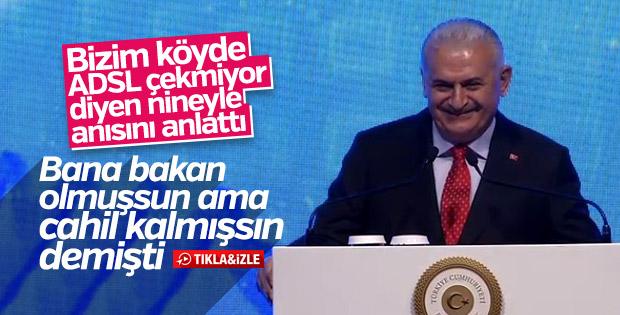 Başbakan Yıldırım'ın Erzincanlı nine ile anısı
