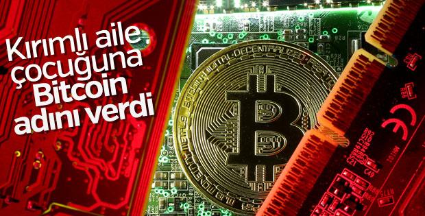Çocuğunun ismini Bitcoin koydu