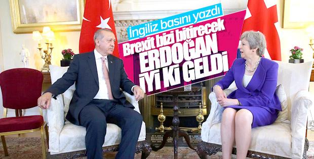 İngiliz gazeteler Erdoğan'ın ziyaretini analiz etti