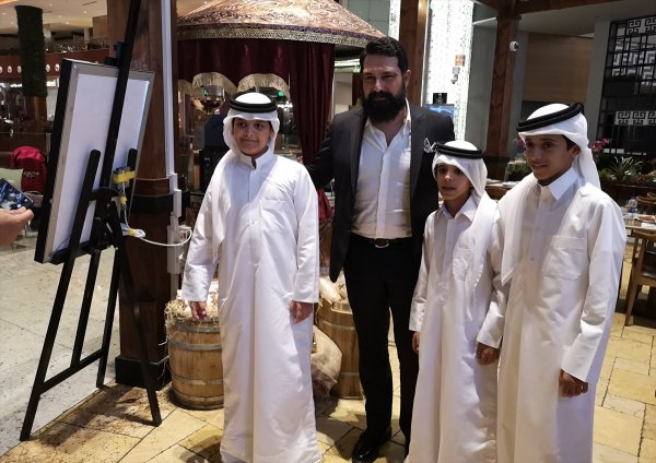 Payitaht or principal actor of Abdulhamid in Qatar