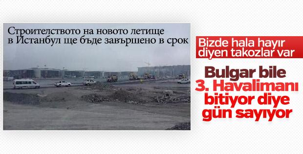 Bulgaristan 3. Havalimanı'nın gidişatından memnun