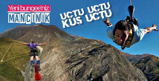 Yeni bungee jumping tarzı: Nevis Mancınık