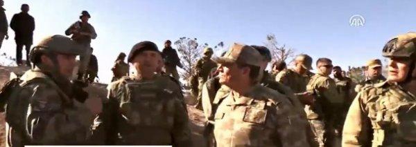 2. Ordu Komutanu İsmail Metin Temel Burseya'da