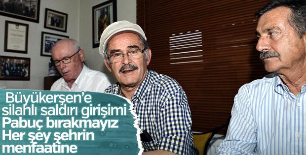 Yılmaz Büyükerşen'e silahlı saldırı girişimi