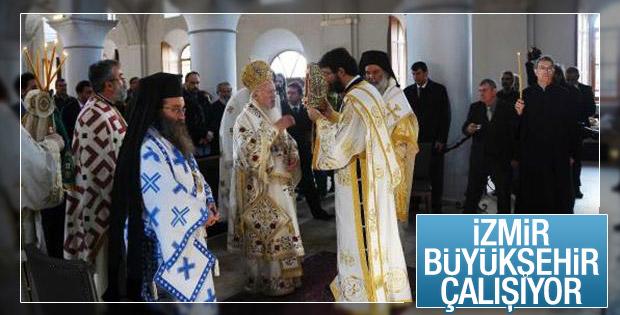 İzmir'de kilise restore edildi 100 yıl sonra ayin yapıldı