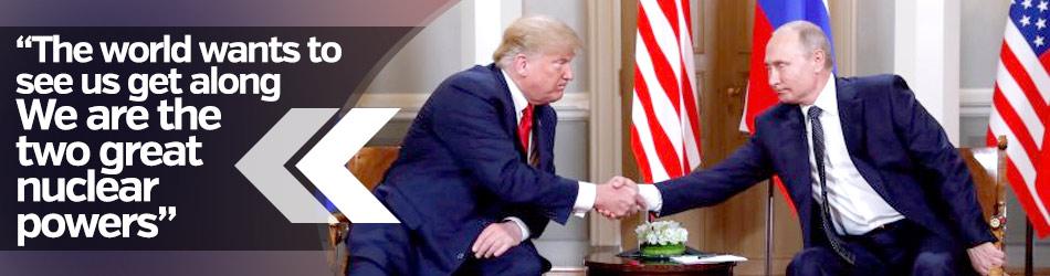 Trump meets Putin in Helsinki
