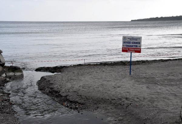 Tekirdağ'da denize girmek yasaklandı