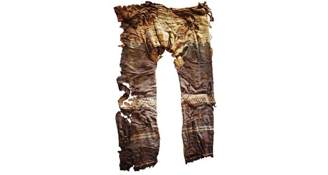 Hemşinliler Ermeni iddiasını çürüten 3500 yıllık pantolon