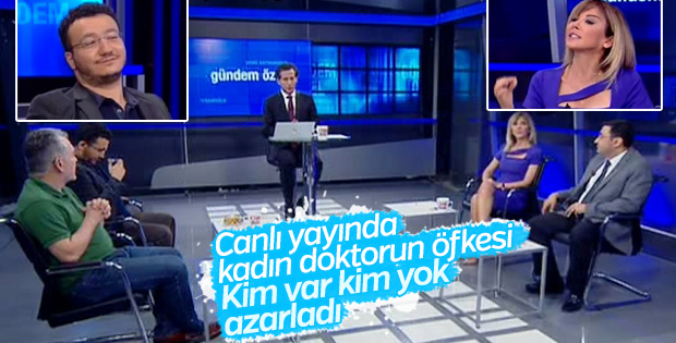 CNN Türk canlı yayınında gergin anlar