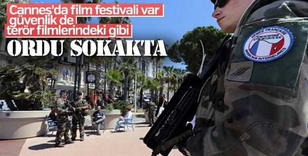 Cannes'ta geniş güvenlik önlemleri alındı