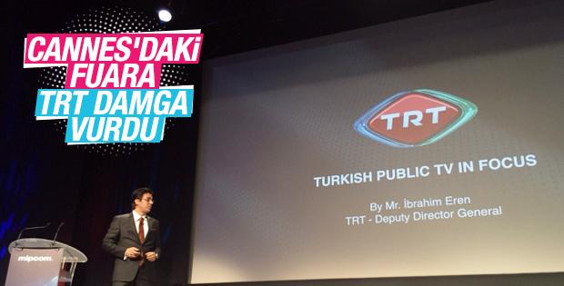 Cannes'daki Mipcom TV fuarına TRT damga vurdu